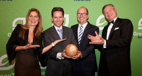 Ceramic Fuel Cells wint GreenTec Award