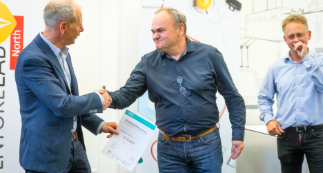 Energy-Company wint prijs Startup FastTrack van Venture Lab North